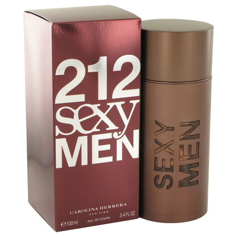 212 Sexy Cologne for Men  Eau De Toilette 3.4 Oz Spray For Men