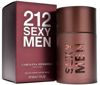 212 Sexy Cologne for Men  Eau De Toilette 1.7 Oz Spray For Men