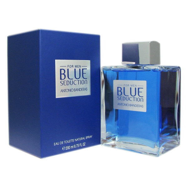 Antonio Banderas Blue Seduction for Men Eau De Toilette Spray, 3.4 Ounce