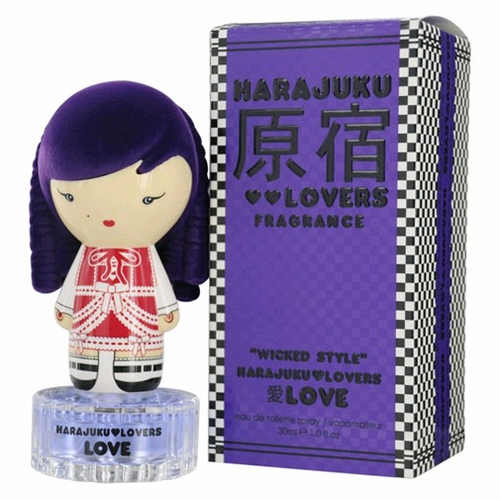 Harajuku Lovers Wicked Style Love Perfume by Gwen Stefani