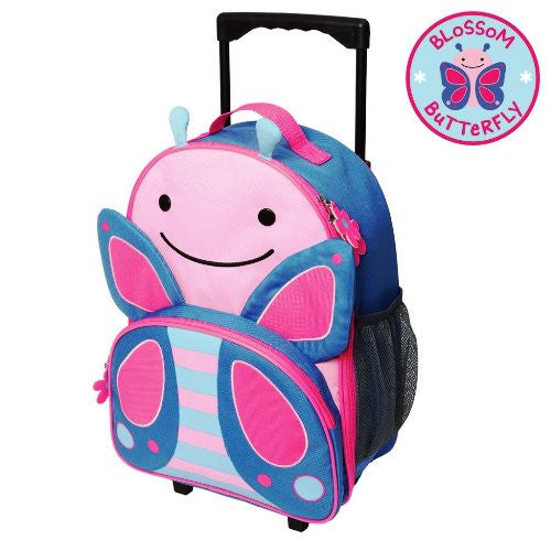 Skip Hop Rolling Luggage Butterfly