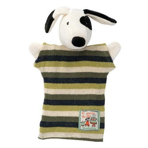 Moulin Roty Hand Puppet Julius Dog