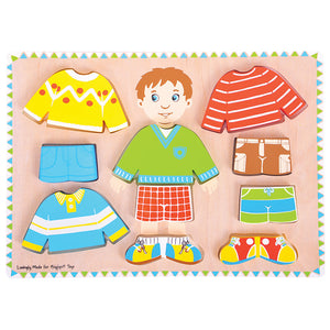 Dressing Boy Puzzle Bigjigs Puzzles and Games