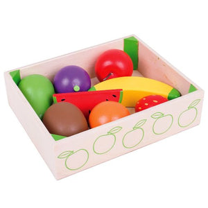 Food Crate Fruit Bigjigs Pretend Play
