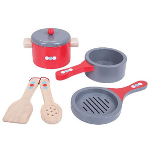Cooking Pans Bigjigs Pretend Play