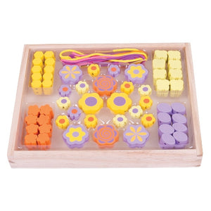 Bead Box Flower Bigjigs Arts and Crafts