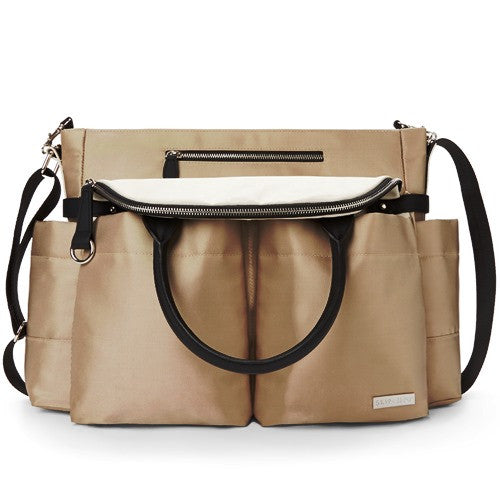 Skip Hop Baby Bag Chelsea Downtown Champagne