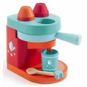 My Coffee Machine Djeco Pretend Play Wooden Toys
