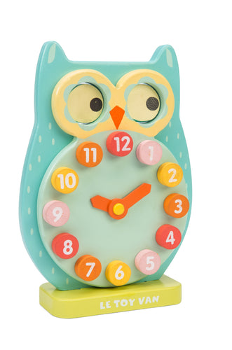 Blink Owl Clock Le Toy Van Wooden Toys
