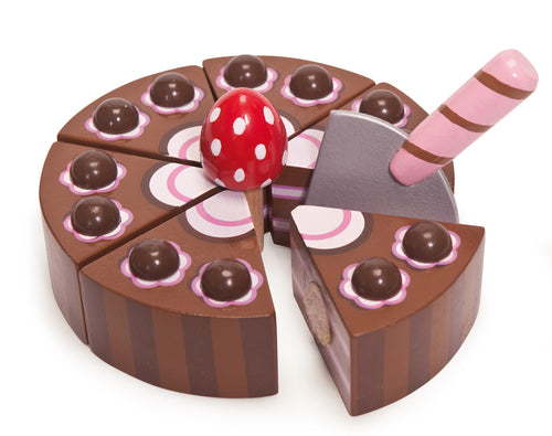 Chocolate Gateau Le Toy Van Pretend Play