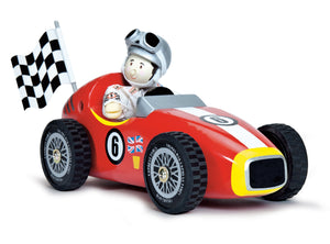 Retro Racer Le Toy Van Wooden Toys