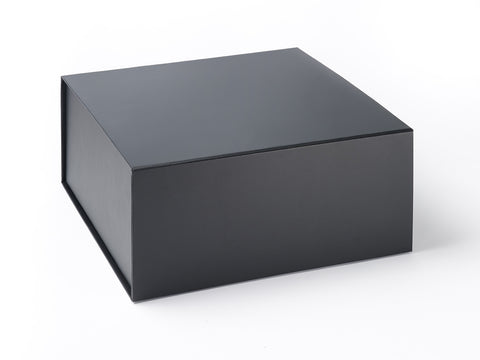 XL Deep Black Luxury Gift box with magnetic closure (Pack of 12)