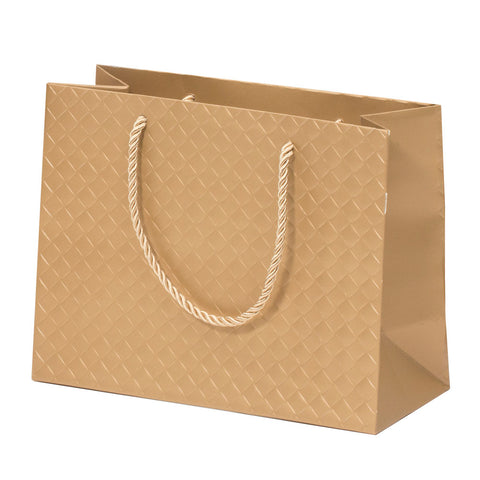 Lady Brigitte Medium Gold Boutique Bag, Pack 40 (80p each)