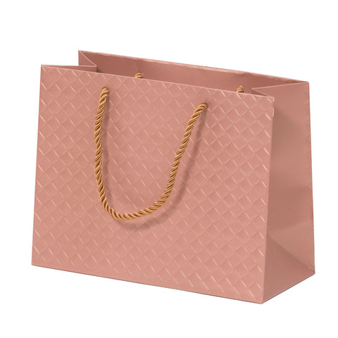 Lady Brigitte Medium Rose Gold Boutique Bag, Pack 40 (80p each)