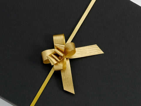 Paporlene Gold Small Pull Bows (100)