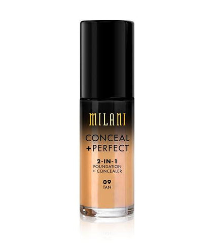 Milani Conceal + Perfect 2in1 Foundation + Concealer - Tan