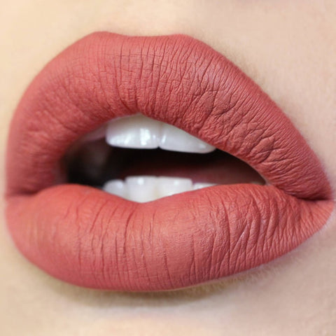 Bumble Colourpop dusty warm terracotta