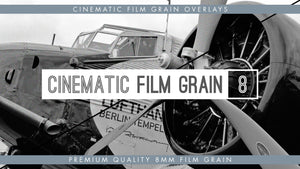 8mm Cinematic Film Grain