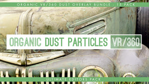 VR360° Organic Dust Particle Overlays