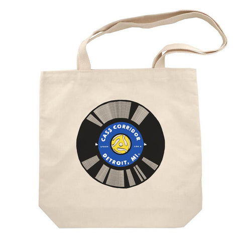 Cass Corridor Record Tote Bag - City Bird