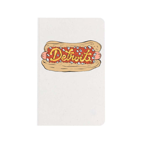 Detroit Coney Dog Notebook - City Bird