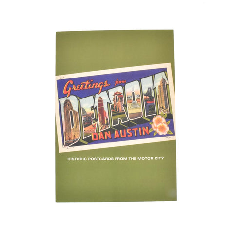 Greetings From Detroit: Historic Postcards from the Motor City - City Bird