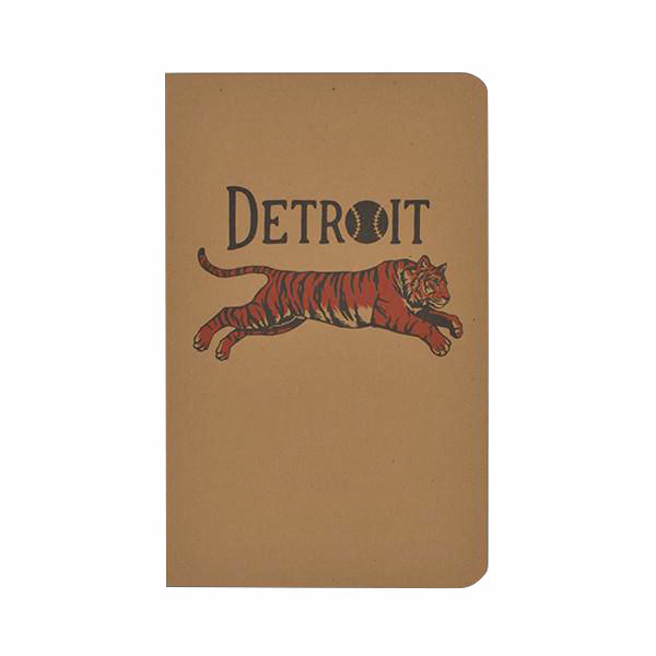 Leaping Tiger Notebook - City Bird