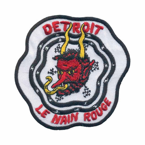 Le Nain Rouge Detroit Patch 2018 - City Bird