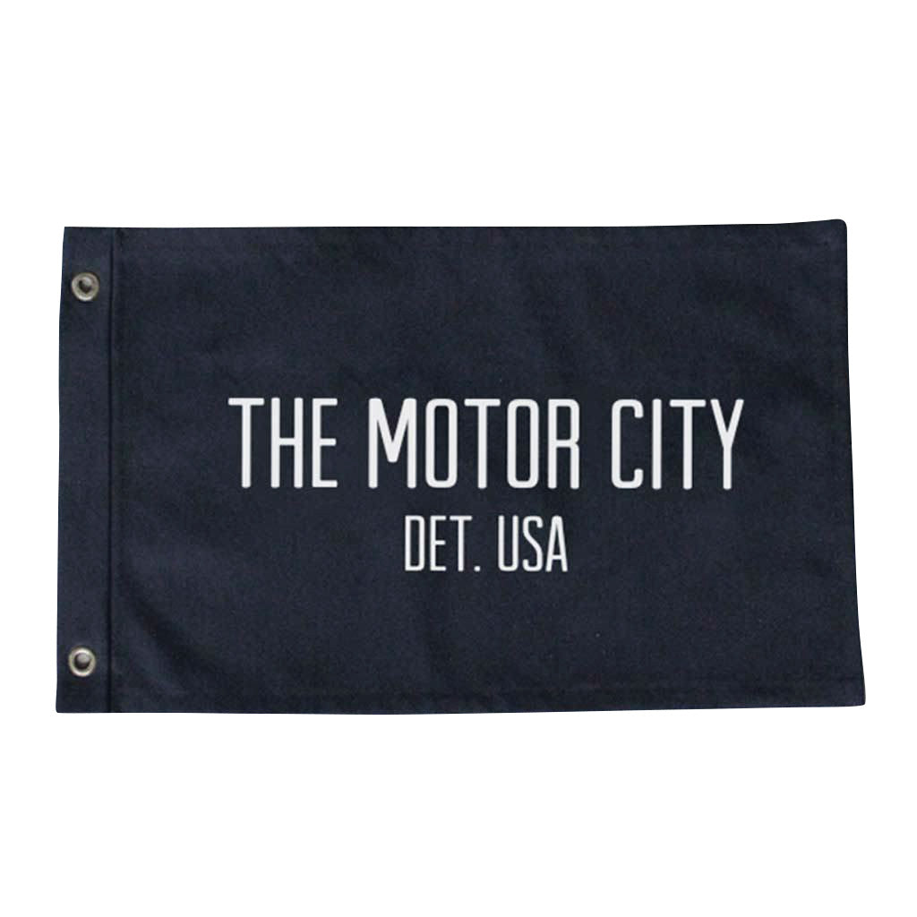 Motor City Flag - Large