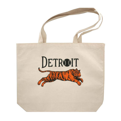 Leaping Tiger Tote Bag - City Bird