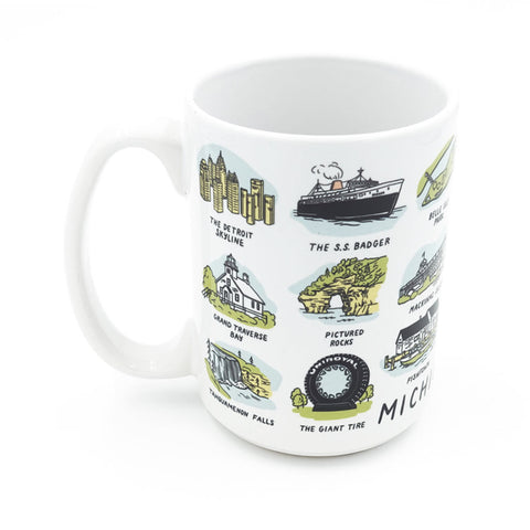 Michigan Sights Mug - City Bird