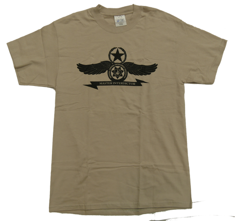 Master Interdictor Logo Tee - Tan