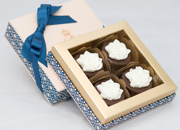 4 Choco Honey Cakes in a Box