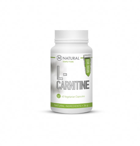 M-Natural L-Carnitine 750 mg 60 kaps.
