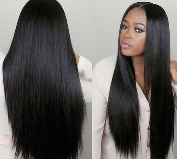 7A Virgin Straight Peruvian Hair - 4 Bundles