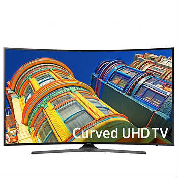 "Samsung 49"" Curved 4K Ultra HD LED LCD TV UN49KU650DFXZA"