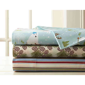 Micro Flannel® Full Printed Sheet Set