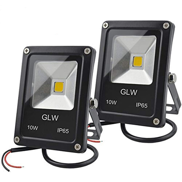 Set Of 2 Waterproof Outdoor LED Flood Lights
