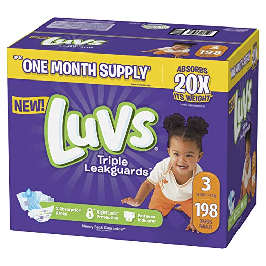 Targeted: 50% Off Luvs Or Huggies Diapers