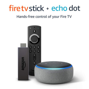 Fire TV Stick bundle with Echo Dot (3rd Gen)