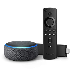 Fire TV Stick 4K bundle with Echo Dot (3rd Gen)