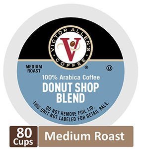 80 Donut Shop Blend Medium Roast Single Serve Coffee Pods