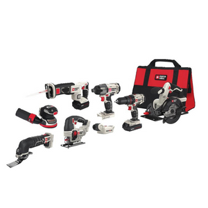 Porter-Cable 20V MAX Lithium Ion 8-Tool Combo Kit
