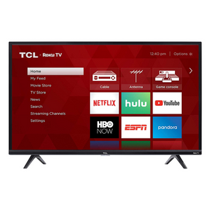 TCL 32 Inch 720p Roku Smart LED TV (2019)