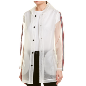 Transparent Long Rain Jacket