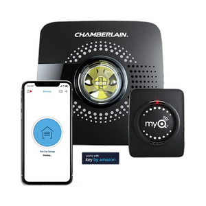 MyQ Smart Garage Door Opener - Wireless & Wi-Fi enabled Garage Hub with Smartphone Control