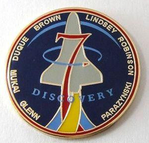 STS-95 Mission Lapel Pin At The Space Store