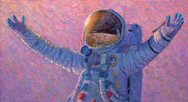 'HELLO UNIVERSE'  Limited Edition Print by Apollo 12 Astronaut Alan Bean - The Space Store