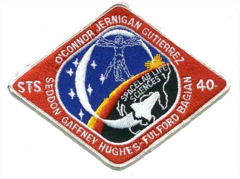 STS-40 Mission Patch