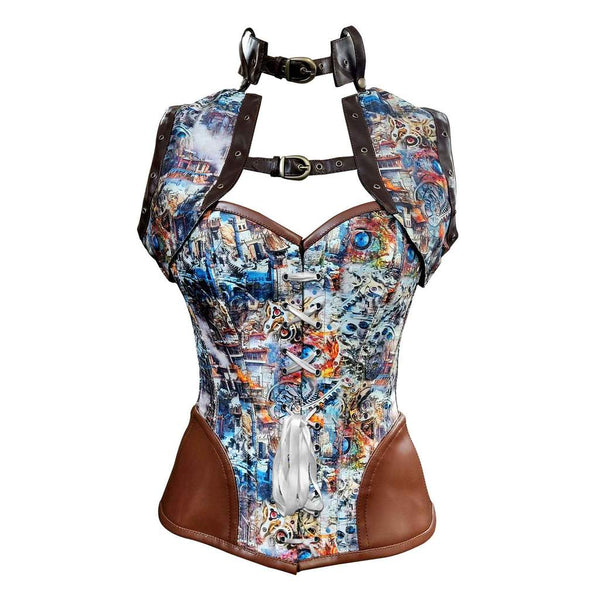 Cauthinho Steampunk Overbust Corset